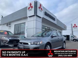 Used 2016 Mitsubishi Lancer SE LTD AWC  - One owner - $45.88 /Wk for sale in Hamilton, ON
