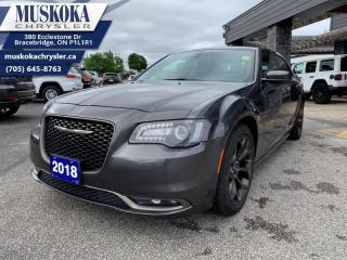 Used 2018 Chrysler 300 S  - Certified for sale in Bracebridge, ON