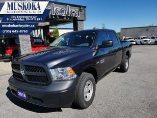 Used 2018 RAM 1500 ST  - Low Mileage for sale in Bracebridge, ON