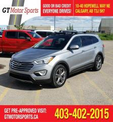 Used 2013 Hyundai Santa Fe LTD w/Saddle Int for sale in Calgary, AB
