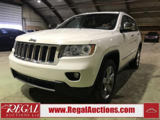 Used 2012 Jeep Grand Cherokee Overland 4D Utility 4WD for sale in Calgary, AB
