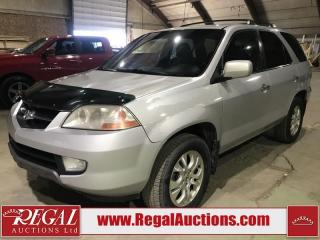 Used 2003 Acura MDX 4D Utility AWD for sale in Calgary, AB