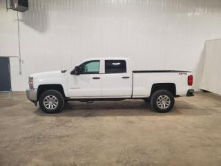 Used 2018 Chevrolet Silverado 2500 HD Work Truck Crew Cab 4WD for sale in Dundurn, SK