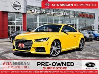 Used 2017 Audi TTS 2.0T   Leather   Back-UP CAM   Navi   Heated Seats for sale in Richmond Hill, ON