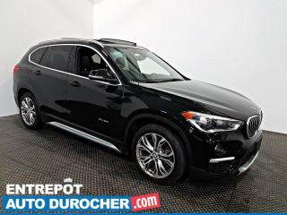 Used 2016 BMW X1 XDrive28i AWD TOIT OUVRANT - A/C - Cuir for sale in Laval, QC