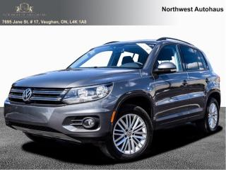 Used 2016 Volkswagen Tiguan Special Edition panoramic sunroof 8 to choose for sale in Concord, ON