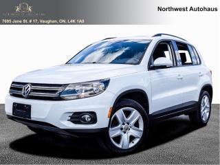 Used 2016 Volkswagen Tiguan Comfortline PANORAMIC SUNROOF LEATHER 10 TO CHOOSE for sale in Concord, ON
