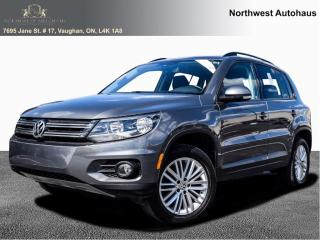 Used 2016 Volkswagen Tiguan Special Edition PANORAMIC SUNROOF 10 TO CHOOSE FRO for sale in Concord, ON