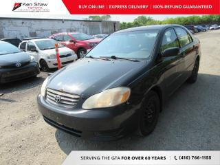 Used 2004 Toyota Corolla for sale in Toronto, ON