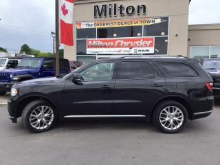 Used 2016 Dodge Durango LIMITED 4X4|LEATHER|NAVIGATION|SUNROOF for sale in Milton, ON