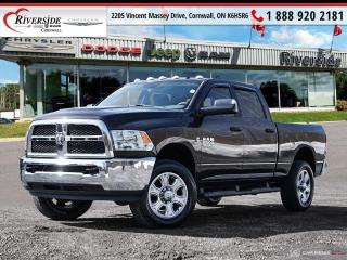 Used 2017 RAM 2500 Crew Cab 4x4 SLT (149 WB 64 Box) for sale in Cornwall, ON