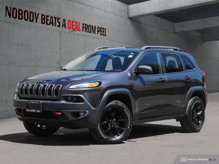 Used 2016 Jeep Cherokee 4WD 4dr Trailhawk for sale in Mississauga, ON