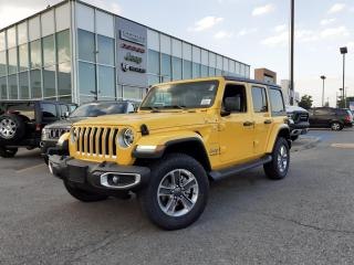 New 2020 Jeep Wrangler NAVI LEATHER LED LIGHTS COLD WEATHER GROUP for sale in Pickering, ON