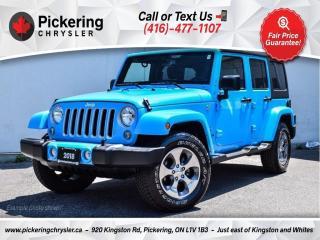 Used 2018 Jeep Wrangler JK Sahara - Heated Seats/NAV/Alloys/Hard TOP for sale in Pickering, ON