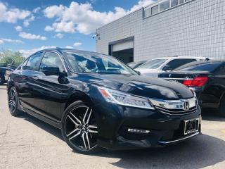 Used 2017 Honda Accord Sedan |TOURING|ADAPTIVE CRUISE|SUNROOF|LANE ASIST|NAVIGATION! for sale in Brampton, ON