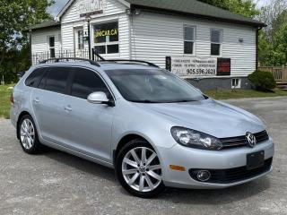 Used 2012 Volkswagen Golf Wagon No-Accidents TDI HIGHLINE Diesel Leather Pano Roof Bluetooth for sale in Sutton, ON