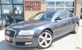 Used 2009 Audi A8 4dr Sdn Fully Loaded, Navi, Cam, Premium Leather for sale in Oakville, ON