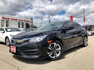 Used 2018 Honda Civic Sedan LX Air - Power group - Bluetooth - Rear camera for sale in Mississauga, ON