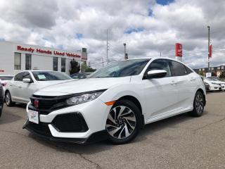 Used 2017 Honda Civic Hatchback LX Air - Alloy - Power group - Rear camera for sale in Mississauga, ON