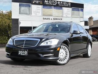 Used 2010 Mercedes-Benz S-Class S450 4MATIC AMG PKG *Accident Free, Navi, Dynamic Seats* for sale in Scarborough, ON