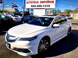 Used 2016 Acura TLX A-SPEC TECH PKG Navigation/Camera/Lane Keeping/Sunroof for sale in Mississauga, ON