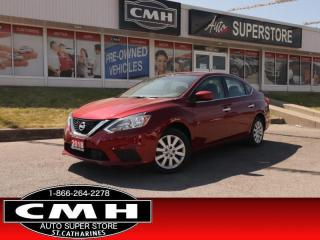 Used 2018 Nissan Sentra 1.8 SV  REAR-CAMERA HTD-STS BLUETOOTH AUT0 for sale in St. Catharines, ON