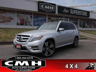 Used 2015 Mercedes-Benz GLK-Class GLK 250 BlueTEC 4MATIC  DIESEL AWD for sale in St. Catharines, ON