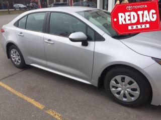 New 2020 Toyota Corolla COROLLA L CVT Corolla L CVT for sale in Mississauga, ON
