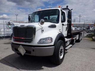Used 2012 Freightliner M2 Business Flat Deck 26 foot Air Brake Diesel for sale in Burnaby, BC