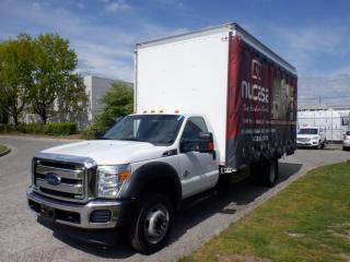 Used 2016 Ford F-550 Cube Van 18 foot Dually 2WD Diesel for sale in Burnaby, BC