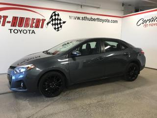 Used 2015 Toyota Corolla TOIT OUVRANT, CVT S for sale in St-Hubert, QC