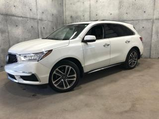 Used 2017 Acura MDX GPS SH-AWD CAMÉRA RECUL ANGLE MORT for sale in St-Nicolas, QC