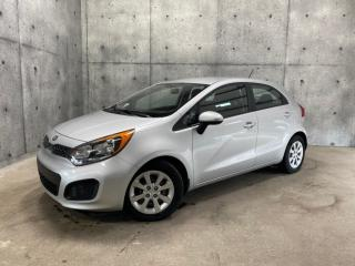 Used 2015 Kia Rio HATCHBACK LX + AUTOMATIQUE A/C SIÈGES CHAUFFANT for sale in St-Nicolas, QC
