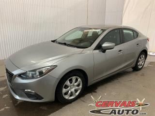 Used 2016 Mazda MAZDA3 Camera GPS A/C Bluetooth for sale in Trois-Rivières, QC