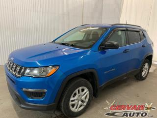 Used 2018 Jeep Compass Sport 4X4 Mags Caméra Volant chauffant for sale in Trois-Rivières, QC