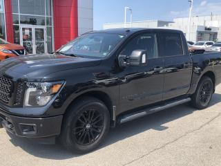 Used 2018 Nissan Titan SV MIDNIGHT EDITION for sale in St. Catharines, ON