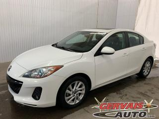 Used 2013 Mazda MAZDA3 GS-SKY Luxe Cuir Toit ouvrant Mags for sale in Trois-Rivières, QC