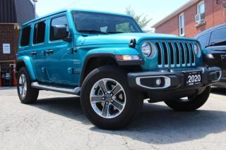 Used 2020 Jeep Wrangler Unlimited 4WD Sahara for sale in Scarborough, ON