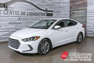 Used 2017 Hyundai Elantra GL+MAGS+A/C+CAM/REC+BLUETOOTH for sale in Laval, QC