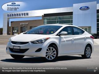 Used 2012 Hyundai Elantra GL for sale in Ottawa, ON