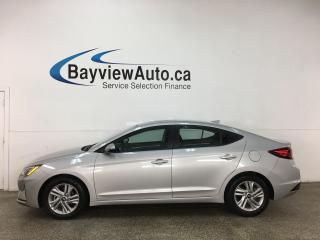 Used 2020 Hyundai Elantra Preferred w/Sun & Safety Package - AUTO! SUNROOF! HTD SEATS! REVERSE CAM! + MORE! for sale in Belleville, ON