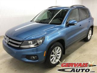 Used 2017 Volkswagen Tiguan Wolfsburg Edition 4Motion AWD Cuir Mags for sale in Shawinigan, QC
