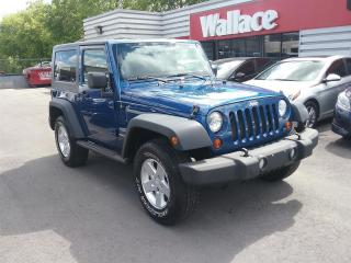 Used 2010 Jeep Wrangler Sport 4x4 w/ Hardtop & COLD AC for sale in Ottawa, ON