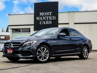 Used 2016 Mercedes-Benz C 300 LIMITED PKG|NAV|DUAL ROOF for sale in Kitchener, ON
