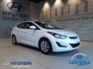 Used 2015 Hyundai Elantra L+AIR CLIMATISÉ+DÉMARREUR+CRUISE for sale in Sherbrooke, QC