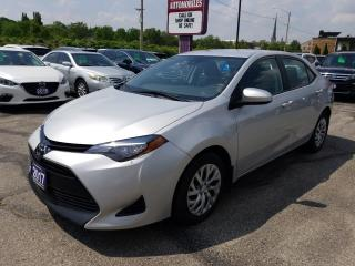 Used 2017 Toyota Corolla LE BLUE TOOTH !!  REAR CAMERA !!  HEATED SEATS !! for sale in Cambridge, ON