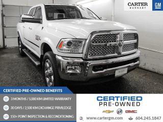 Used 2015 RAM 3500 Laramie ONE OWNER! - NO ACCIDENT - GPS Nav - Sunroof - Camera for sale in Burnaby, BC