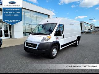 Used 2019 RAM ProMaster 3500 HIGH ROOF for sale in Victoriaville, QC