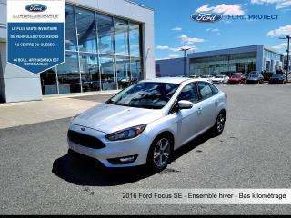 Used 2016 Ford Focus Ford, Focus , BAS KILO, for sale in Victoriaville, QC