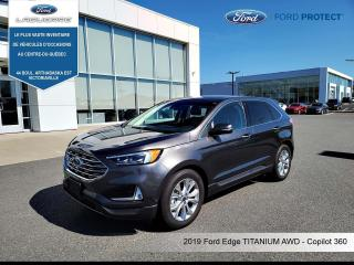Used 2019 Ford Edge Titanium,CUIR, TOIT PANO ,NAV for sale in Victoriaville, QC